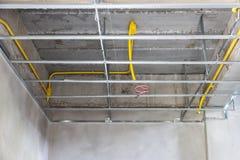 Struttura del soffitto di configurazione Immagini Stock Libere da Diritti