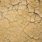 Struttura del suolo asciutto Fotografia Stock