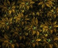 Struttura del tessuto con i fiori Immagini Stock Libere da Diritti