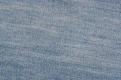 Struttura del tessuto dei jeans Fotografie Stock Libere da Diritti