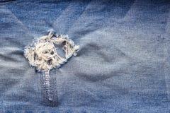 Struttura del tessuto dei jeans del denim, fondo astratto Immagini Stock Libere da Diritti