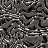 Struttura del tessuto del metallo Immagine Stock