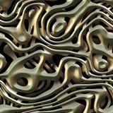 Struttura del tessuto del metallo Fotografia Stock Libera da Diritti
