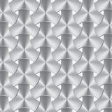 Struttura del tessuto del metallo o dell'alluminio, fondo Fotografie Stock