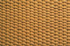 Struttura del tessuto del rattan Immagini Stock