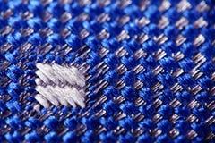 Struttura del tessuto del tessuto della lana Immagini Stock Libere da Diritti