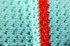 Struttura del tessuto del tessuto della lana Fotografia Stock Libera da Diritti