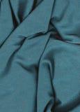 Struttura del tessuto del turchese Immagini Stock