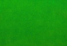 Struttura del tessuto del velluto, verde, per gli ambiti di provenienza Fotografia Stock Libera da Diritti