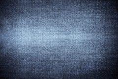 Struttura del tessuto delle blue jeans fotografia stock libera da diritti