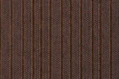 Struttura del tessuto di Brown Fotografie Stock Libere da Diritti