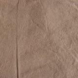 Struttura del tessuto di Brown con il modello a strisce delicato fotografie stock libere da diritti