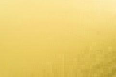 Struttura del tessuto di cotone giallo come fondo astratto. Fotografia Stock Libera da Diritti