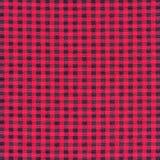 Struttura del tessuto di tessuto rosso del plaid di tartan Fotografia Stock