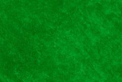 Struttura del tessuto di verde della Tabella del casinò Fotografia Stock