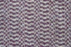 Struttura del tessuto tricottata angora Fotografia Stock