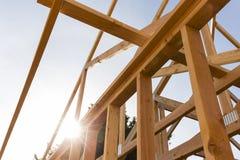 Struttura del tetto della casa Fotografie Stock