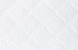 Struttura del tovagliolo del Libro Bianco Fotografia Stock Libera da Diritti