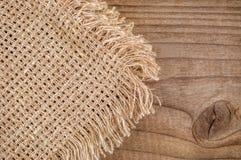 Struttura del tovagliolo della tela da imballaggio fotografie stock