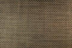 Struttura del tovagliolo dorato di vimini, primo piano, decorazione fotografia stock libera da diritti