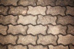 Struttura del verme del mattone Fotografia Stock