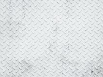Struttura dell'acciaio del metallo bianco Fotografia Stock Libera da Diritti