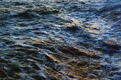 Struttura dell'acqua di mare fotografie stock libere da diritti