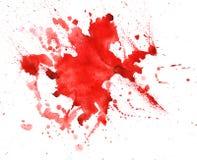 Struttura dell'acquerello delle macchie Fotografia Stock Libera da Diritti