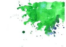 Struttura dell'acquerello delle macchie Immagini Stock Libere da Diritti