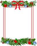 Struttura dell'agrifoglio di Natale illustrazione vettoriale