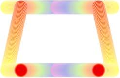 Struttura dell'arcobaleno di Illustratin Immagine Stock