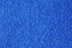 Struttura dell'asciugamano blu Immagini Stock