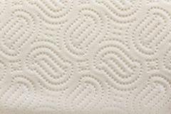 Struttura dell'asciugamano di carta della cucina come fondo Fotografia Stock