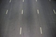 Struttura dell'asfalto con la linea bianca Fotografia Stock
