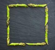 Struttura dell'asparago Fotografia Stock