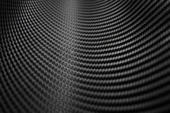 Struttura dell'autoadesivo della fibra del carbonio Materiale nero di lusso Fotografia Stock