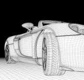Struttura dell'automobile immagini stock libere da diritti