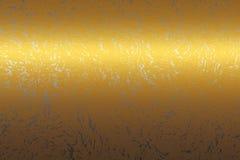 Struttura dell'estratto del metallo dell'oro, priorità bassa da progettare Fotografia Stock