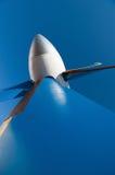 Struttura dell'estratto del primo piano delle palette della turbina dell'aeroplano Immagine Stock