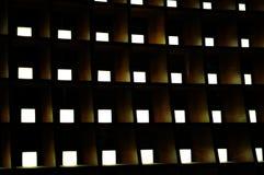 Struttura dell'indicatore luminoso e di legno Immagini Stock Libere da Diritti