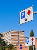 Struttura dell'ospedale Fotografia Stock