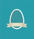 Struttura dell'uovo di Pasqua Immagine Stock