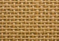 Struttura della bacheca della tela di canapa Fotografie Stock