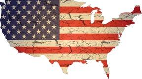 Struttura della bandierina di Americ Immagine Stock