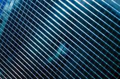 Struttura della batteria solare blu scuro Fotografia Stock
