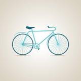 Struttura della bici un Struttura della bicicletta un bicycling ciclare Illustrazione di vettore Fotografia Stock Libera da Diritti
