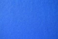 Struttura della carta blu usata come fondo Fotografia Stock Libera da Diritti