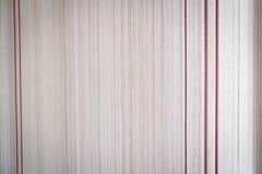 Struttura della carta da parati di carta in una piccola striscia delle tonalità beige Fotografia Stock Libera da Diritti