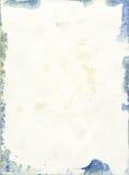 Struttura della carta dell'acquerello di danno Fotografia Stock