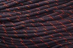Struttura della corda utilizzando nel lavorare all'altezza Fotografia Stock Libera da Diritti